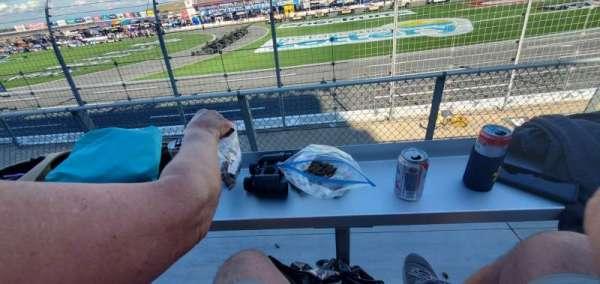 Charlotte Motor Speedway, secção: Ford K, fila: 7, lugar: 12
