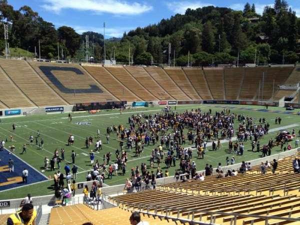 California Memorial Stadium, secção: E, fila: 37, lugar: 10