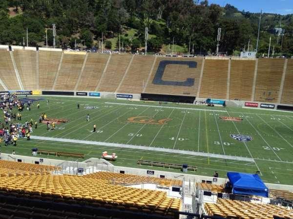 California Memorial Stadium, secção: GG, fila: 37, lugar: 1
