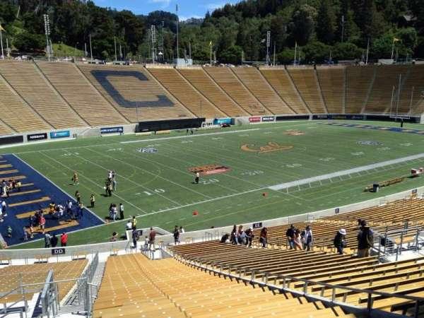 California Memorial Stadium, secção: E, fila: 47, lugar: 10