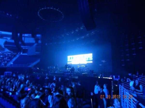 Infinite Energy Arena, secção: 107, fila: c, lugar: 4
