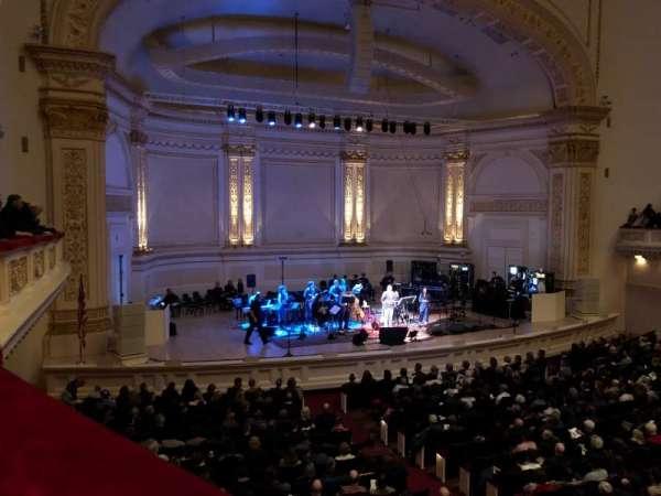 Carnegie Hall, secção: Box 47, fila: 1, lugar: 3