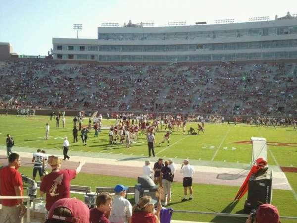 Bobby Bowden Field at Doak Campbell Stadium, secção: 9, fila: 10, lugar: 19