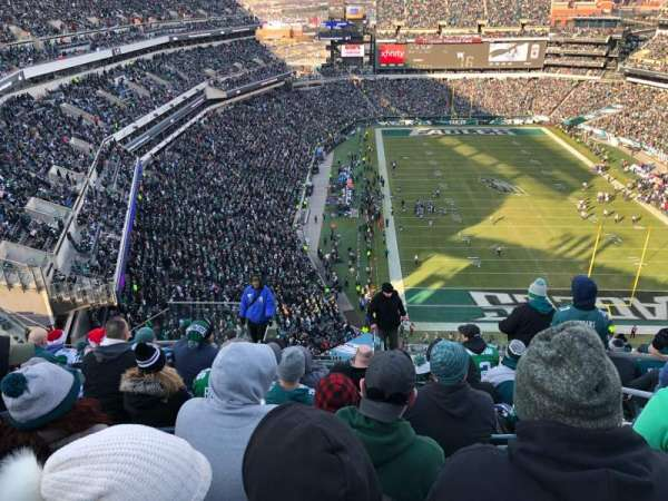 Lincoln Financial Field, secção: 209, fila: 15, lugar: 4