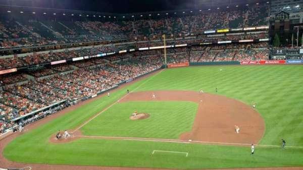 Oriole Park at Camden Yards, secção: 320, fila: 1, lugar: 10