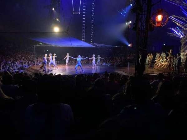 Cirque du Soleil Big Tent, secção: 206, fila: K, lugar: 4