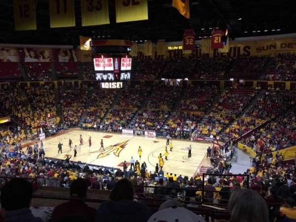 Wells Fargo Arena (Tempe), secção: D1, fila: 30, lugar: 2