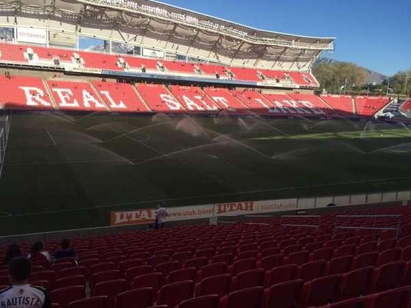 Rio Tinto Stadium, secção: 23, fila: U, lugar: 13