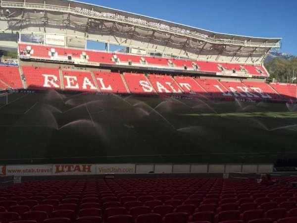 Rio Tinto Stadium, secção: 22, fila: U, lugar: 18