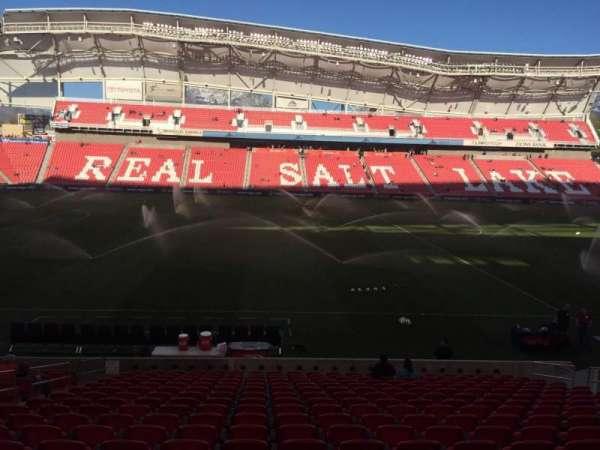 Rio Tinto Stadium, secção: 20, fila: T, lugar: 14