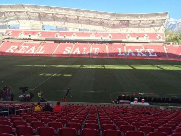 Rio Tinto Stadium, secção: 18, fila: V, lugar: 14