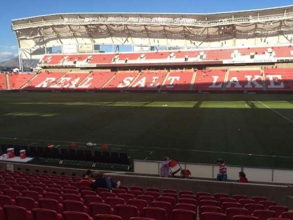 Rio Tinto Stadium, secção: 17, fila: M, lugar: 5