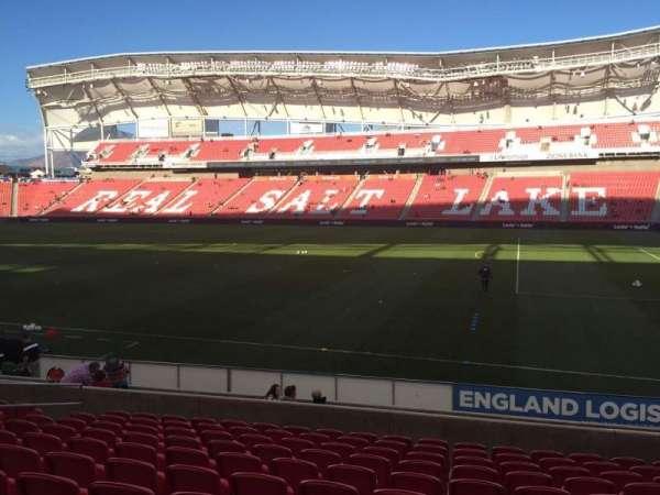 Rio Tinto Stadium, secção: 16, fila: M, lugar: 14