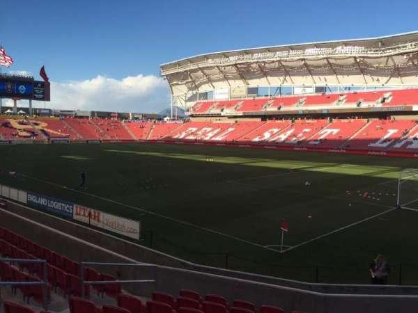 Rio Tinto Stadium, secção: 14, fila: M , lugar: 8