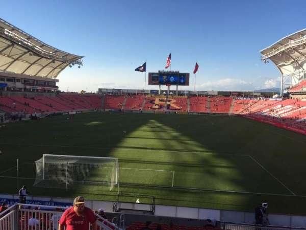 Rio Tinto Stadium, secção: 9, fila: Q, lugar: 15