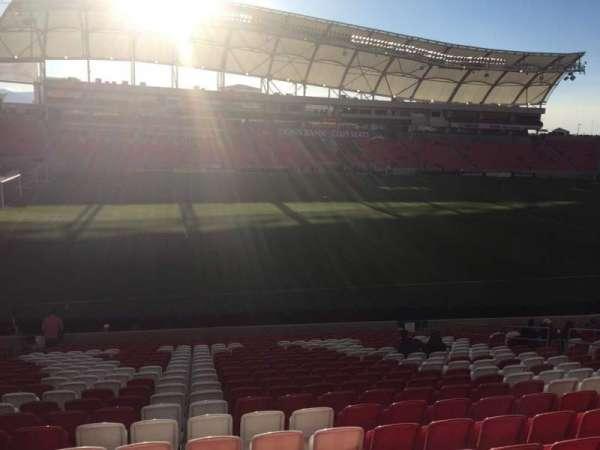 Rio Tinto Stadium, secção: 4, fila: X, lugar: 16