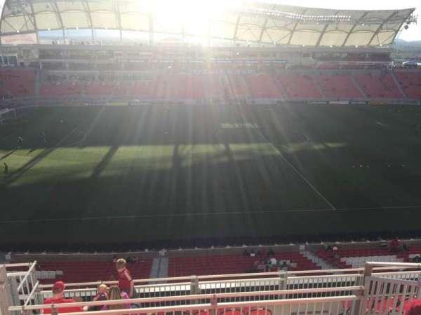 Rio Tinto Stadium, secção: 202, fila: H, lugar: 20