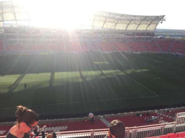 Rio Tinto Stadium, secção: 203, fila: H, lugar: 12