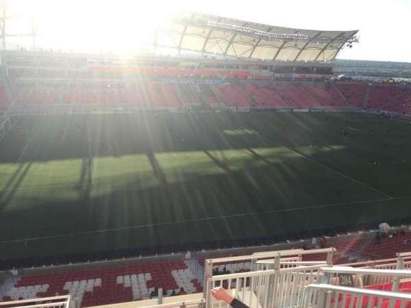Rio Tinto Stadium, secção: 204, fila: H, lugar: 5
