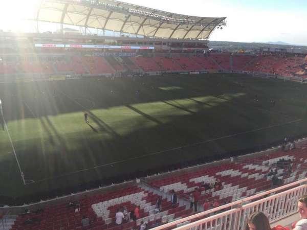 Rio Tinto Stadium, secção: 205, fila: D, lugar: 12