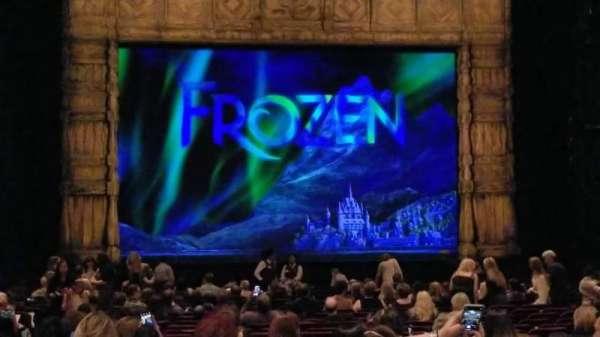 Hollywood Pantages Theatre, secção: ORCHESTRA C, fila: X, lugar: 110