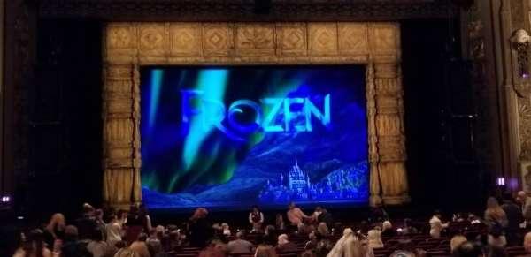 Hollywood Pantages Theatre, secção: ORCHESTRA C, fila: X, lugar: 111