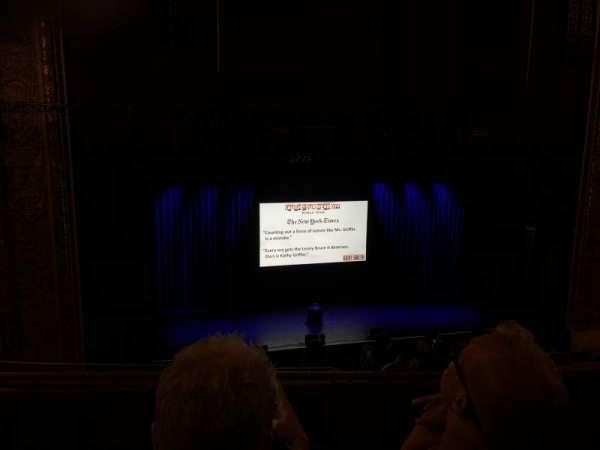 Chicago Theatre, secção: Balcony3L, fila: B, lugar: 315
