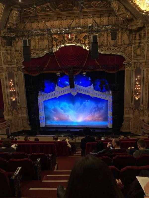 James M. Nederlander Theatre, secção: Balcony RC, fila: K, lugar: 320