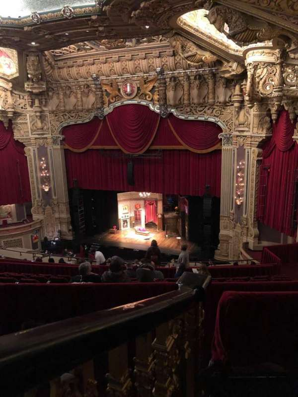 James M. Nederlander Theatre, secção: Balcony R, fila: N, lugar: 364