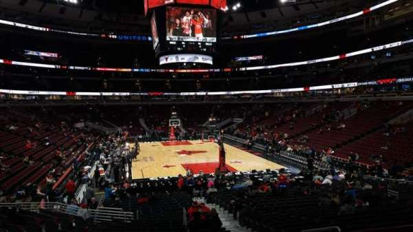 United Center, secção: 118, fila: 18, lugar: 4