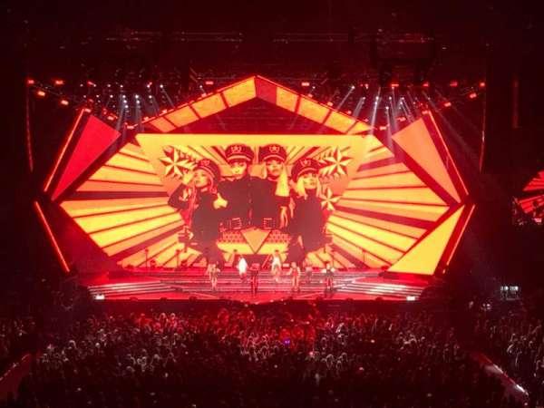 Ziggo Dome, secção: 107, fila: 12, lugar: 217