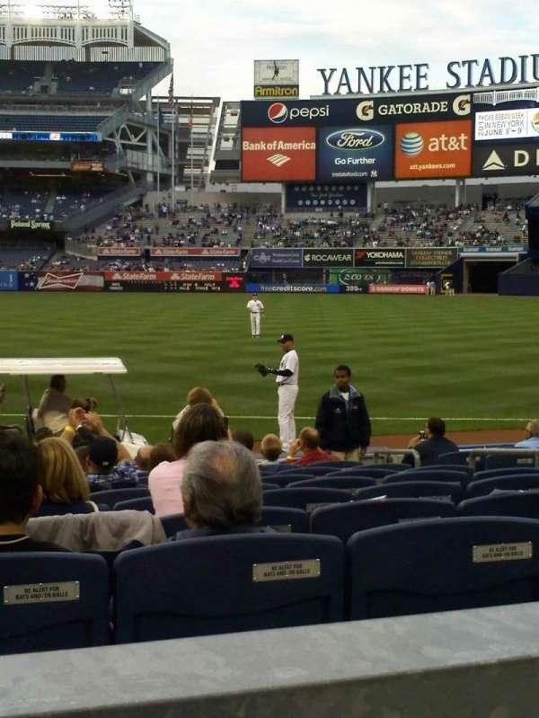 Yankee Stadium, secção: 113, fila: 12, lugar: 10
