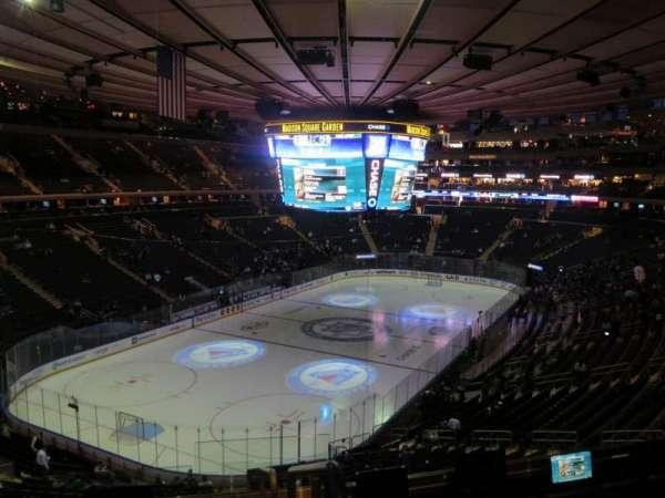 Madison Square Garden, secção: 219, fila: 5