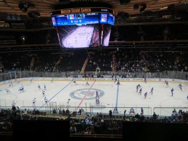 Madison Square Garden, secção: 225, fila: 2, lugar: 5