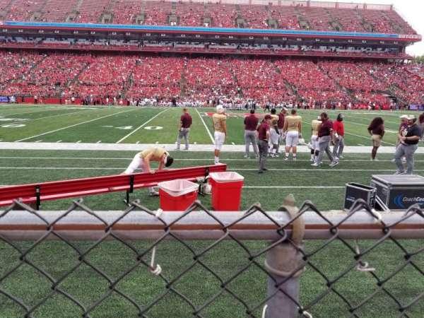 SHI Stadium, secção: 105, fila: 1