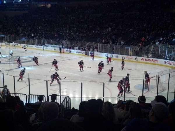 Madison Square Garden, secção: 120, fila: 13, lugar: 12