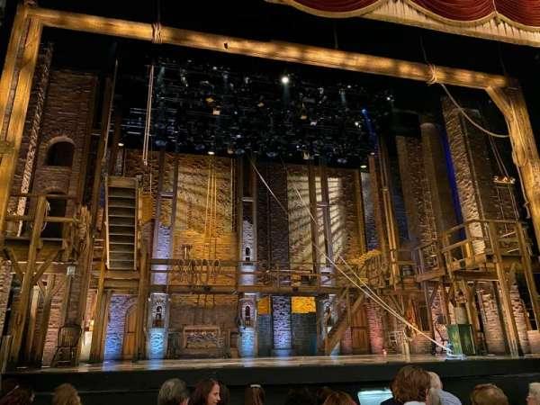 Forrest Theatre, secção: Orchestra C, fila: G, lugar: 114