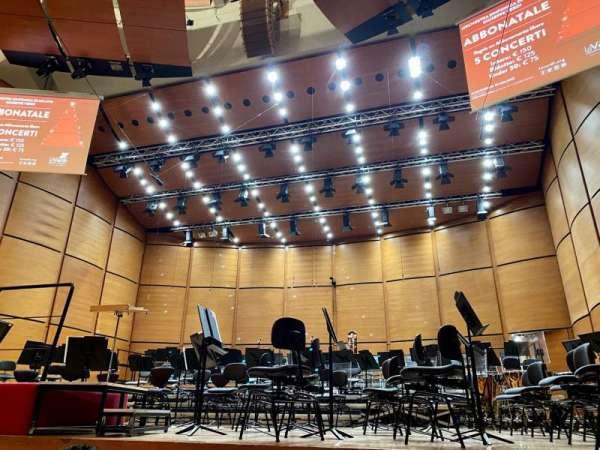 Auditorium Di Milano, secção: Playea, fila: Fila 3, lugar: Postp 10