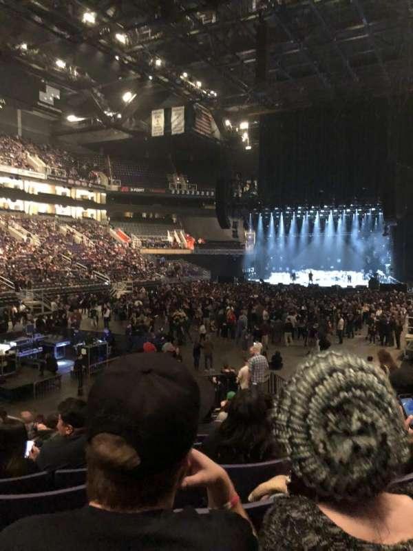 PHX Arena, secção: 106, fila: 16, lugar: 7