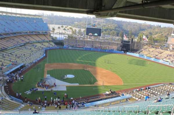 Dodger Stadium, secção: Upper Look Out