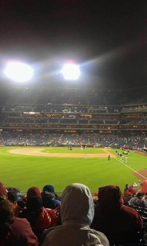Citizens Bank Park, secção: 142, fila: 23, lugar: 7