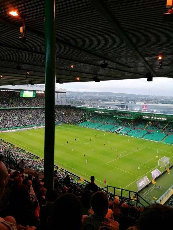 Celtic Park, secção: 445, fila: AA, lugar: 9