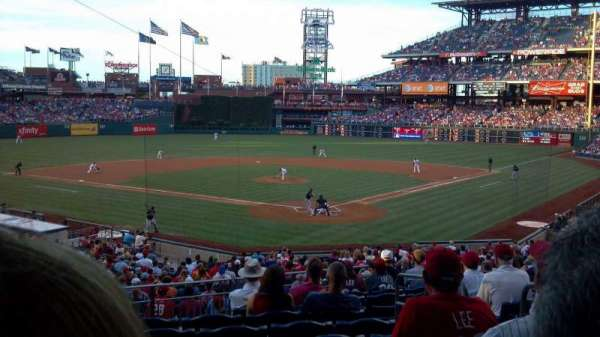 Citizens Bank Park, secção: 125, fila: 32, lugar: 4