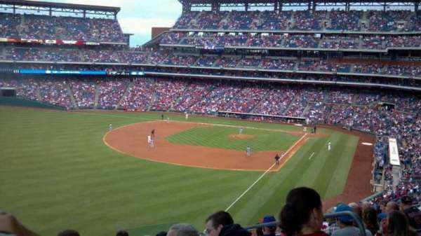 Citizens Bank Park, secção: 237, fila: 9, lugar: 4