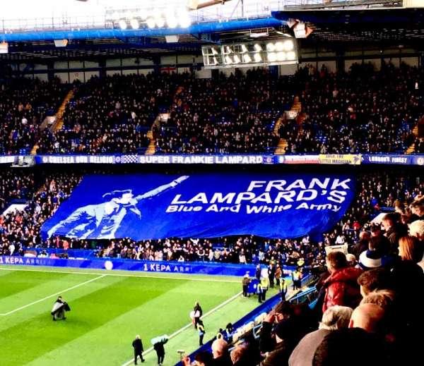 Stamford Bridge, secção: East Stand Upper 3, fila: 7, lugar: 137