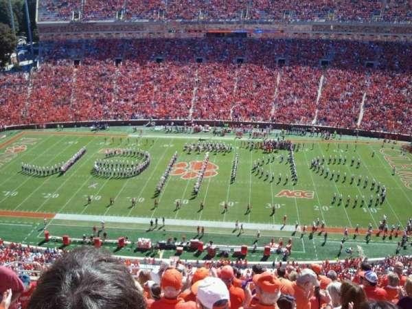 Memorial Stadium, Clemson, secção: Tdp, fila: M, lugar: 6