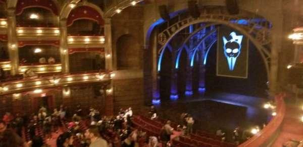 Lyric Theatre, secção: Dress Circle R Box C, fila: A, lugar: 2,3,4