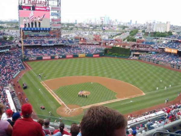 Citizens Bank Park, secção: 419, fila: 9, lugar: 8