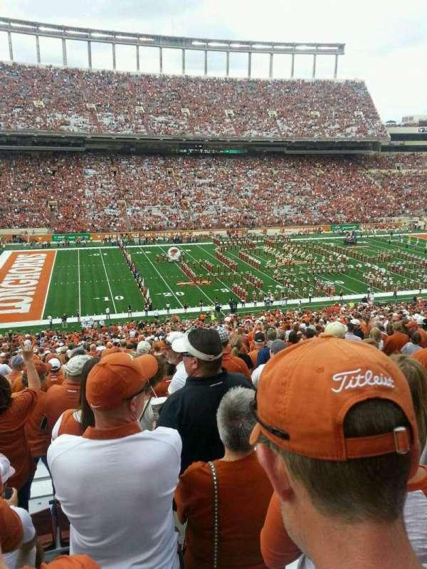 Texas Memorial Stadium, secção: 31, fila: 71, lugar: 7
