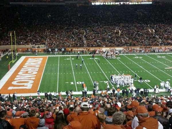 Texas Memorial Stadium, secção: 31, fila: 66, lugar: 7